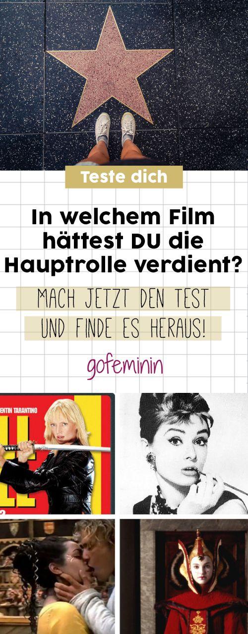Hollywood-Test: In welchem Film hättest DU die Hauptrolle verdient?