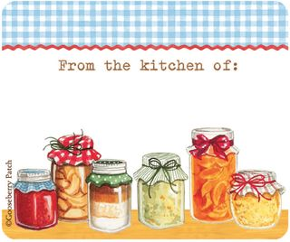 printable kitchen canning labels from Gooseberry Patch