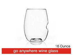 Not necessarily for the wedding, but these are the *best* wine glasses for clumsy folk. They're lightweight and very stable. And, quite inexpensive!