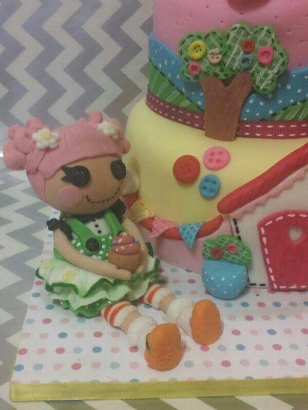 Lalaloopsy cake fondant topper