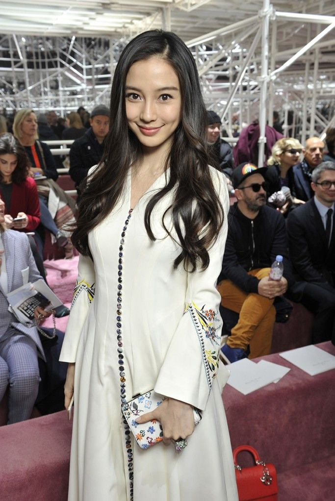 Front Row At Christian Dior Spring 2015 Couture - Angelababy