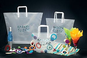 Multipak Frosted Trapezoid Bags Wholesale Plastic Bags - Multipak Wholesale Retail Shopping Bags and Shoppers - : Custom and Stock www.multipakusa.com