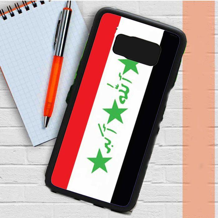 Iraq Flag Samsung Galaxy S8 Plus Case Dewantary