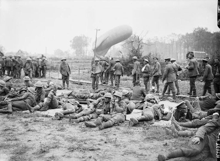 First day of Battle of Passchendaele, July 31, 1917. Wounded at Elverdinghe.