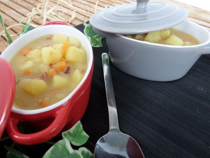 Potato soup        Kartoffelsuppe
