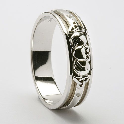 17 Best Images About Claddagh Wedding Rings On Pinterest