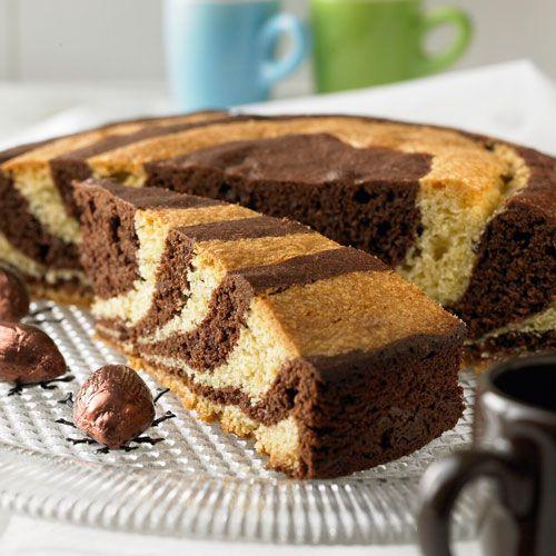 Zebrakuchen: Sieht einfach toll aus und ist ganz einfach nachzumachen.