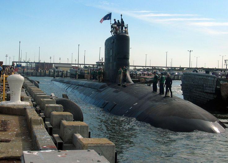 Norfolk Virginia Naval Base | ... Virginia (SSN 774), pulls into port at Naval Station Norfolk, Va., in