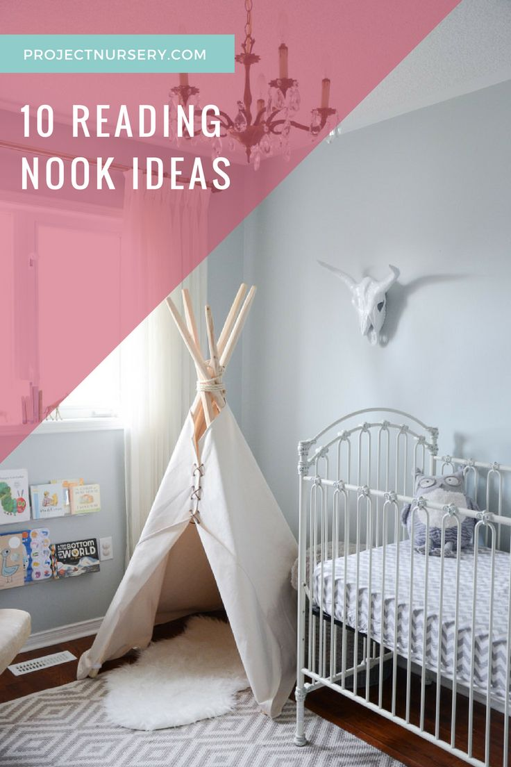 10 Cozy Reading Nook Ideas for the Nursery or Kids Room