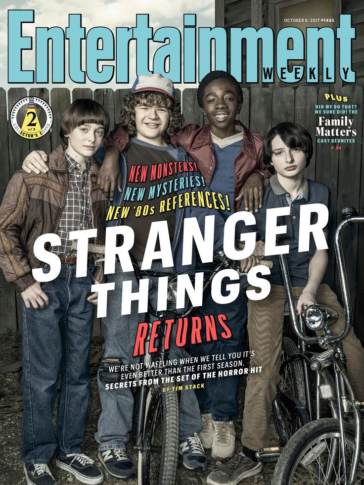Get exclusive scoop on the new monsters and mysteries in 'Stranger Things 2.'
