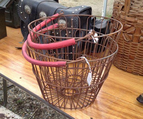 Brimfield 2013: Interesting Storage Pieces: Photo