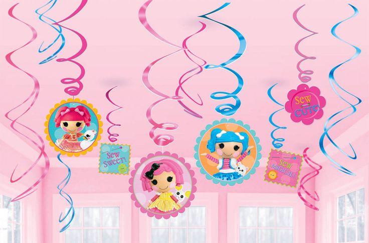 Lalaloopsy Swirl Decorations