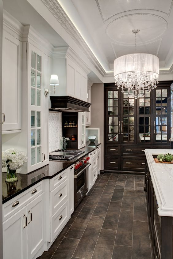 Kitchen Floor With Dark Cabinets best 25+ dark stained cabinets ideas on pinterest | how to