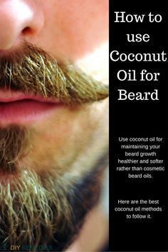 Coconut Oil to your Beard