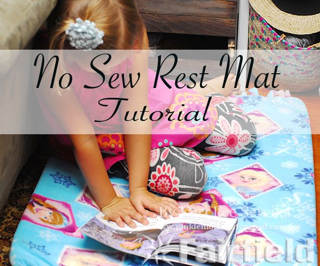 Create your own Frozen DIY Rest Mat in less than an hour and without any sewing! Try this simple craft tutorial with all products you can find at Walmart.