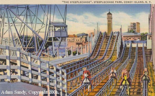Steeplechase Horses Coney Island
