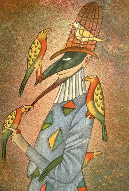 'the birder' - adolf born