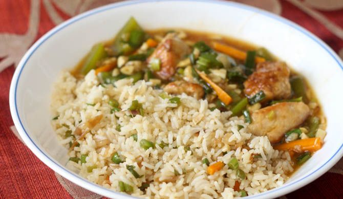 Veg Fried Rice recipe is a delicious and simple rice preparation. Inspired by the chinese cuisine, this fried rice has it's own Indian touch to it. The simple and easy to make veg fried rice...🍭#easyrecipesathome🍭#easyrecipesbyn🍭#easyrecipes🍭 #ricerecipesrock🍭#ricerecipescoconutmilk🍭 #ricerecipesfromaroundtheworld🍭#ricerecipesfortoddlers🍭 #ricerecipesabc🍭#ricerecipes🍚#ricerecipes🍭#ricerecipeseasy🍭#ricerecipesside🍭#ricerecipeshealthy🍭#ricerecipeswhite🍭#ricerecipesfordinner🍭