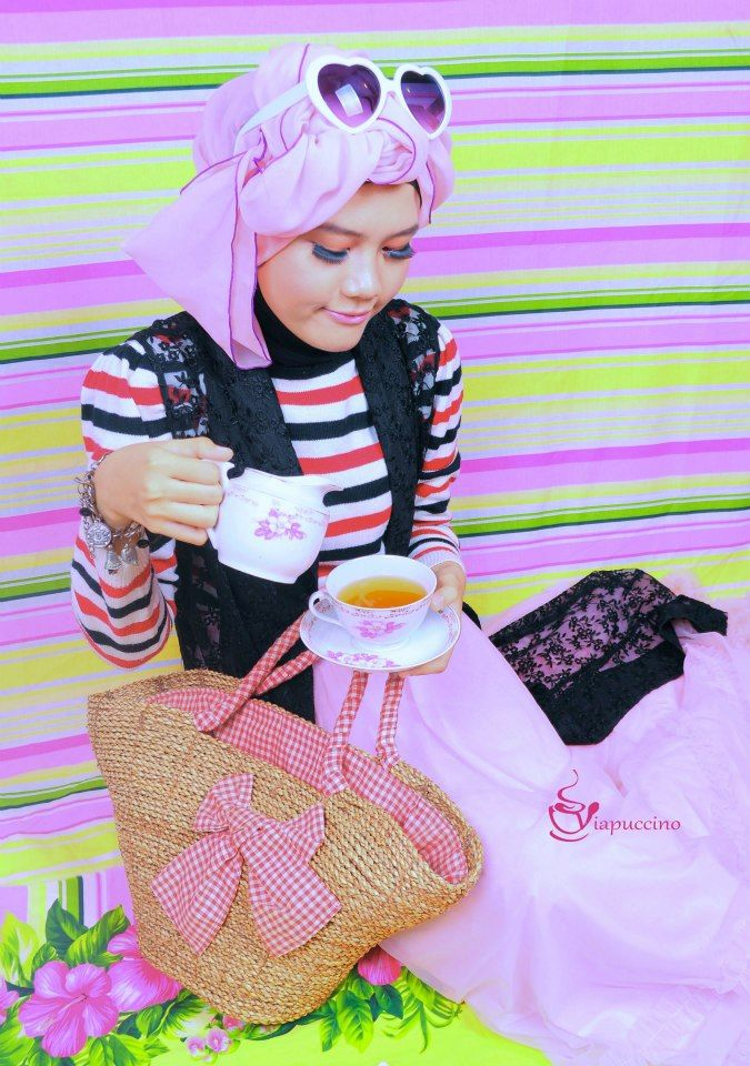 #Picnic #Tea #PINK