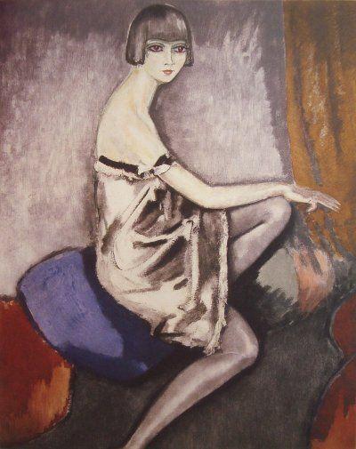 K. van Dongen (1877-1968) - La chemise d'argent - Ruud van der Velden Kunst