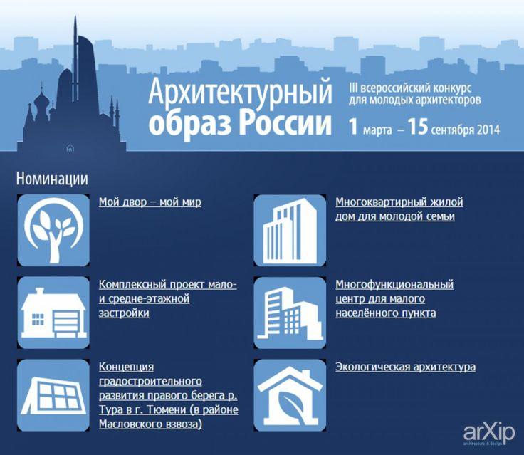 III Всероссийский конкурс инновационных архитектурных проектов «Архитектурный образ России»: архитектура, ландшафтный дизайн, внешний конкурс #architecture #landscapedesign #внешнийконкурс arXip.com