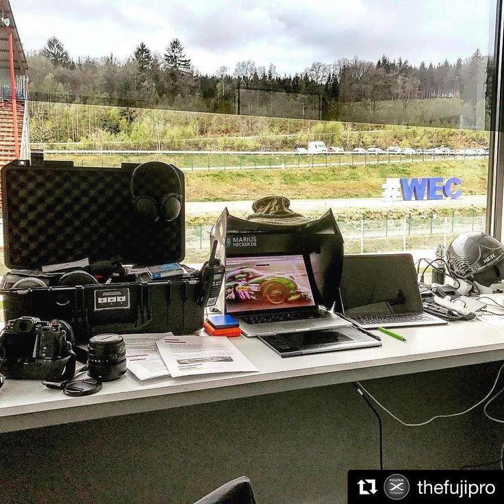 Spa Belgium.  Welcome to my office... - #officialphotographer #oftenimitatedneverduplicated #adrenalstyle #travel #wander #wanderlust #fujifilm #fujifilm_xseries #travelshooteditrepeat #lifeasaphotographer #photographer #endurance #adrenalmedia #xphotographer #xphotographers #automotive #racetrack #racecar #style #race #racing #motorsport #traveller #photography #lifestyle #fujiholics  #fiawec - Photo:  John Rourke/@adrenalmedia.com @thefujipro