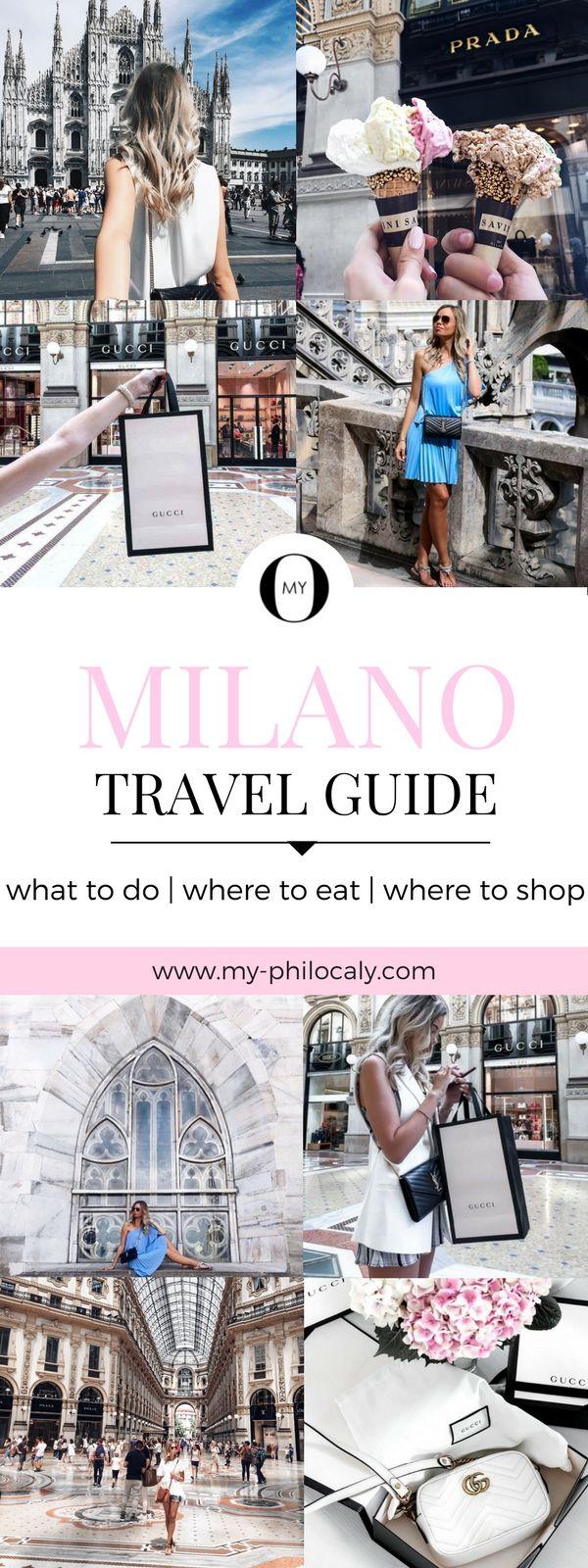 Reisetipps, Sightseeing Tipps, Shopping Tipps für Mailand! Hier erfährst du, was du in Mailand unbedingt sehen solltest, wo du am besten essen kannst und wo sich shopping am meisten lohnt :)