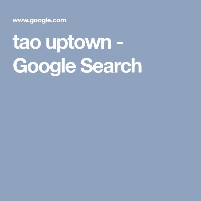 tao uptown - Google Search