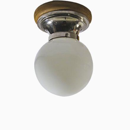 Moderne Deckenleuchten aus Holz, Nickel und Opalglas, 1900er Jetzt bestellen unter: https://moebel.ladendirekt.de/lampen/deckenleuchten/deckenlampen/?uid=0e99c4e6-364e-5f63-be85-93800456bfe9&utm_source=pinterest&utm_medium=pin&utm_campaign=boards #deckenleuchten #lampen #deckenlampen