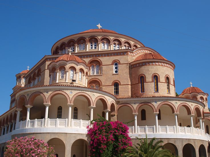 Agios Nektarios; Αγιος Νεκταριος #greece #aegina #AgiosNektarios