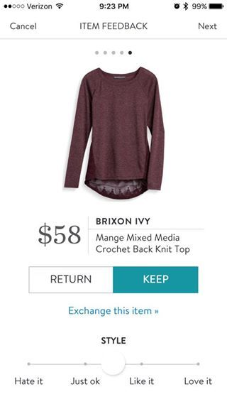 Looks comfy and cute (though hard to tell the color on my monitor). But that's an awful lot to pay for one semi-casual shirt!