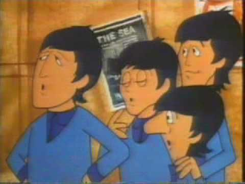 "The Beatles Cartoon ""Paperback Writer"""