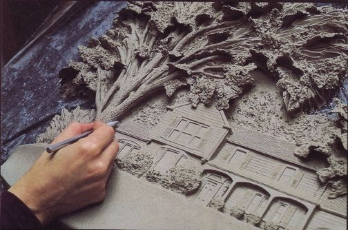 Best images about pottery relief carving on pinterest