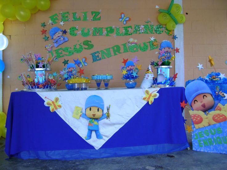 pocoyo cumpleaños decoracion - Buscar con Google