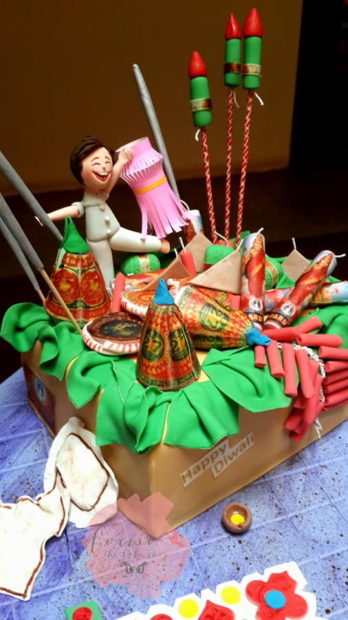 15 Best Diwali Cakes Amp Cupcakes Images On Pinterest
