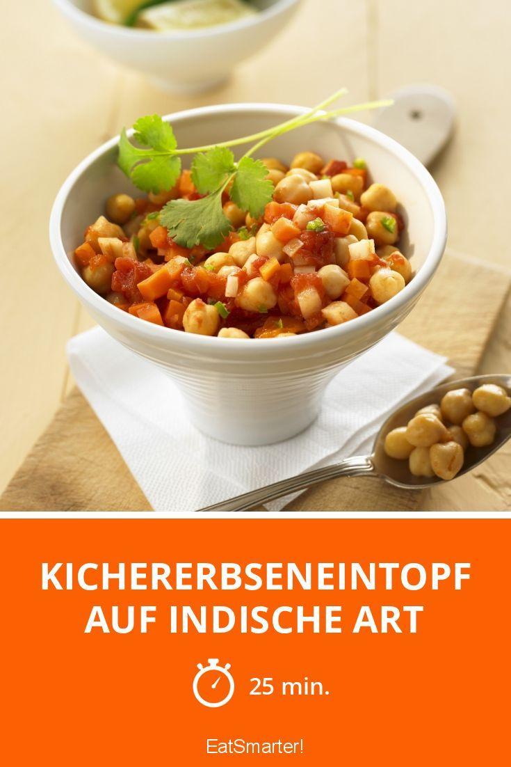 Kichererbseneintopf auf indische Art - smarter - Zeit: 25 Min. | eatsmarter.de