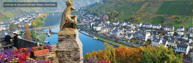 Reichsburg Castle in Cochem, Germany. Is that a frog with a crown? Or a knight's headgear?