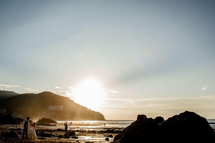 post boda playa bakio