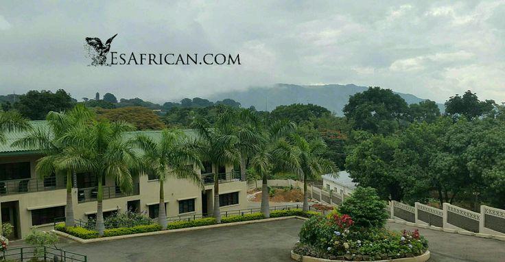 Cedar Place Serviced #Apartments in #Blantyre #Malawi & views of #Michiru Mountain