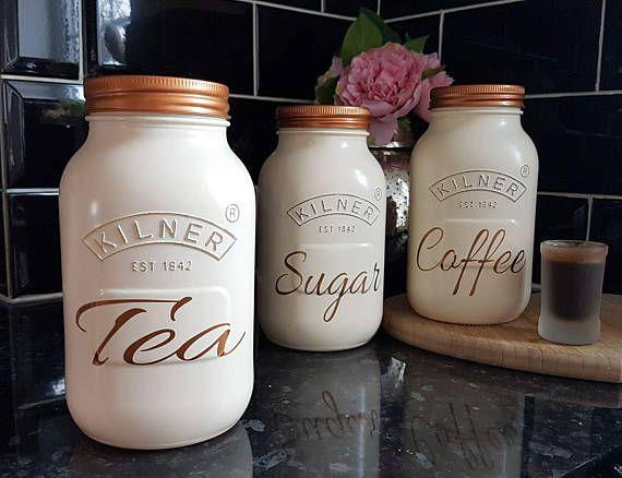 97bf28df27a460e2ad52d8e413c4214e White Tea Coffee Storage Jars Tea And Coffee Jars Set Temasistemi Net
