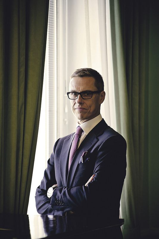 Prime minister of finland Alexander Stubb / Sinetti 3/2014 Photo by Kristian Tervo #spotsuunto Alex with suunto ambit