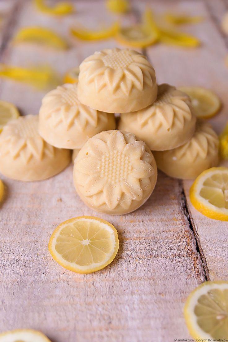 Cytrynowy szampon w kostce