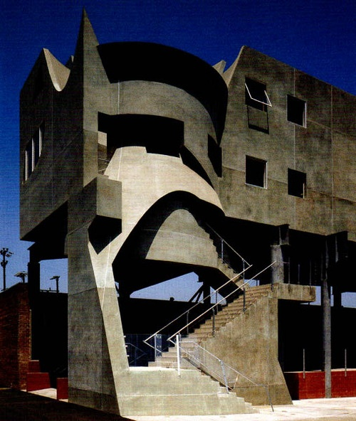 28 best images about eric owen moss architect on for Moss building design