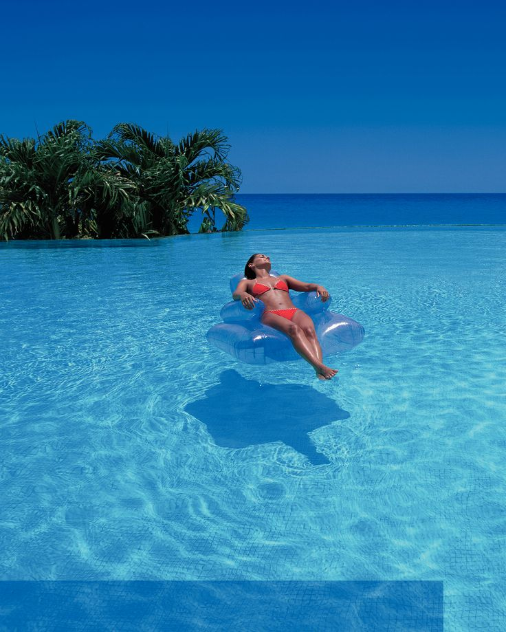 Is your dream holiday laid back spent bathing