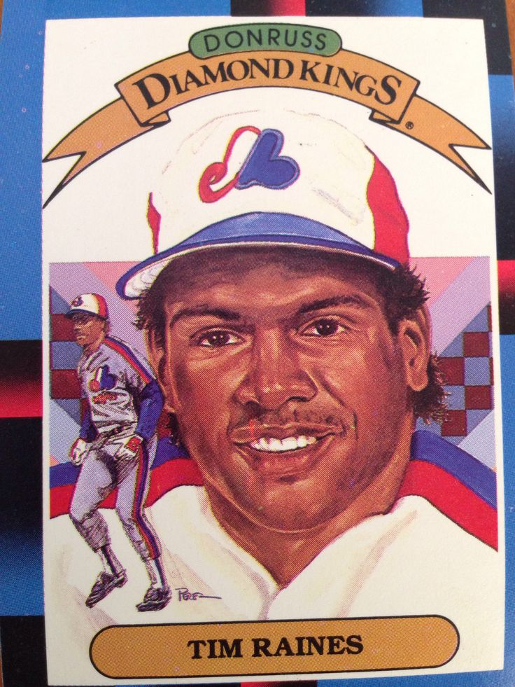 Tim Raines Old baseball cards, Baseball, Baseball cards