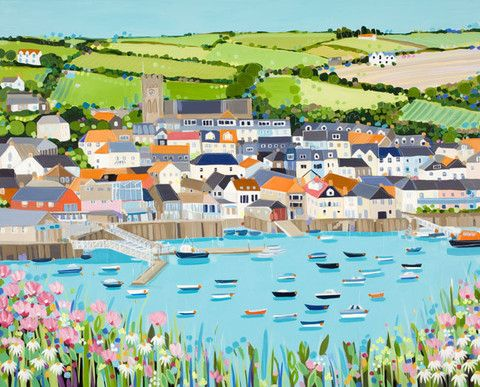 Salcombe by Janet Bell