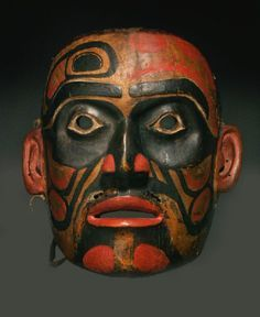 Native American Mask found in 1904 in the Northwest