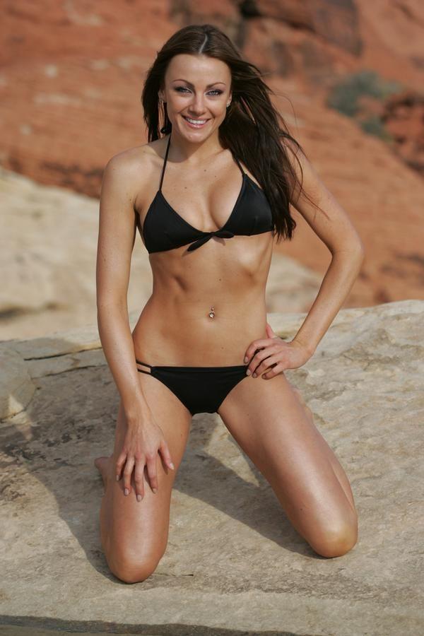 Amber Nichole Miller Mma Ringgirl  Bikinis, Girl Model -3396