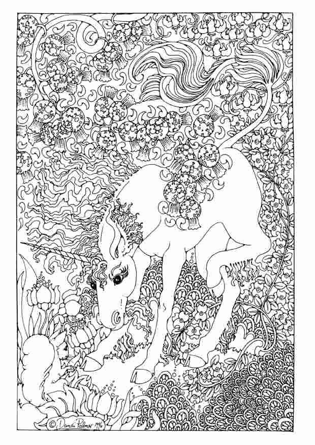 Unicorn Pegasus Coloring Page Luxury Difficult Unicorn Coloring Pages Detailed Coloring Pages Unicorn Coloring Pages Dragon Coloring Page Fairy Coloring Pages