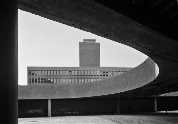 Photography of government building by Teigens Fotoatelier, 1969. DEXTRA Photo, CC BY